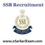 SSB SI, ASI, Constable Recruitment 2018