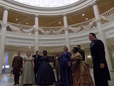 Voices of Liberty singing in Epcot