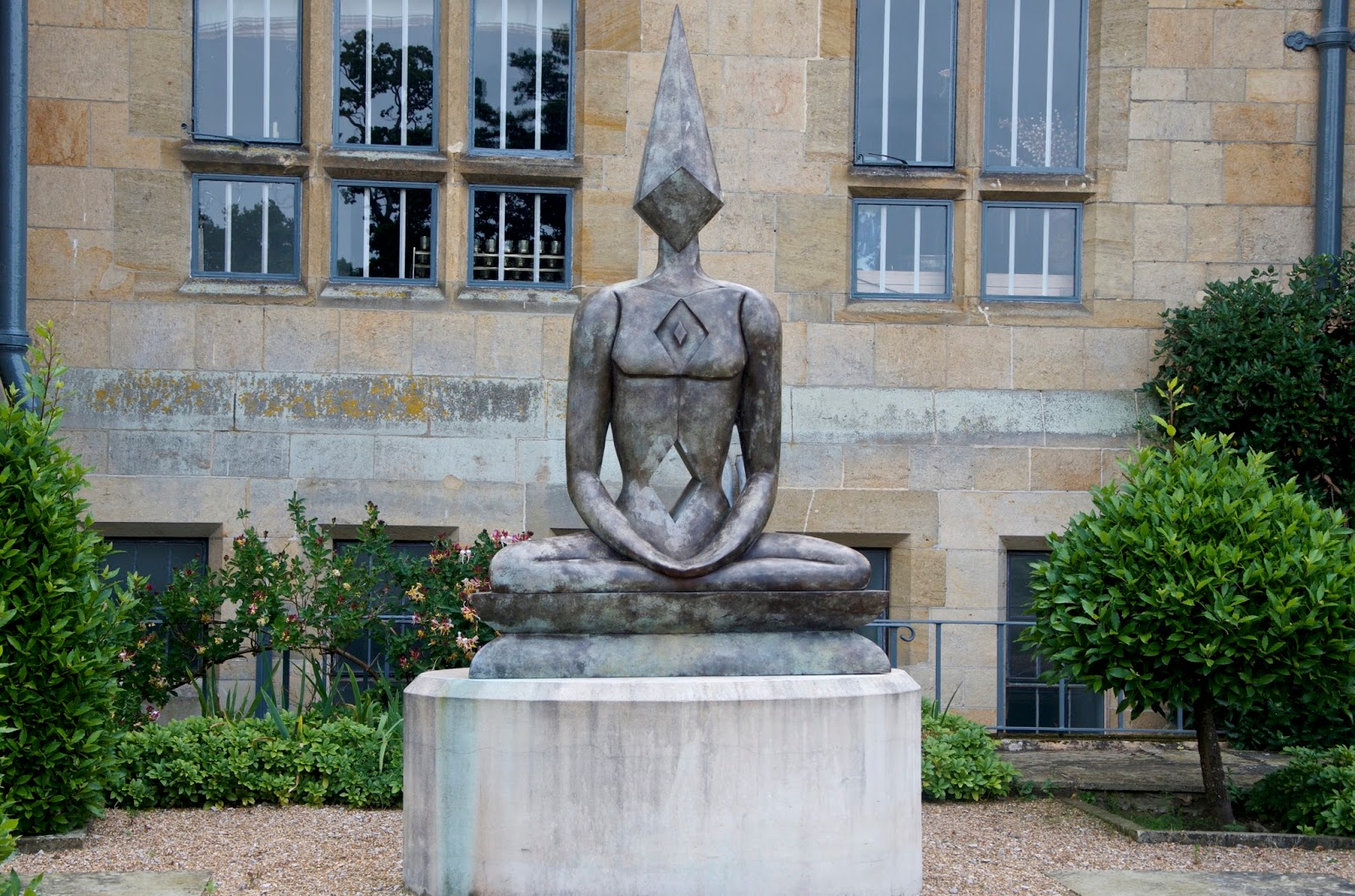 The Meditator Sculpture