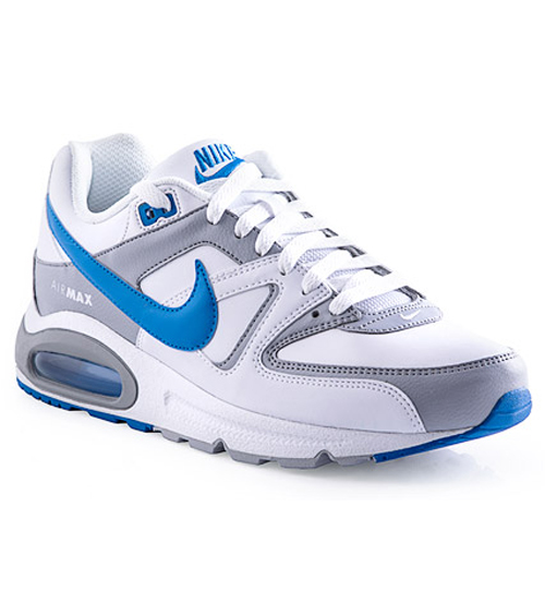 boleto Historiador productos quimicos  Hook of the Day: Men's Nike Air Max Command - White/Blue/Grey