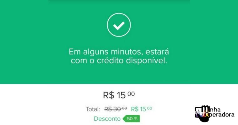 Mercado Pago oferece 50% de desconto em recargas - Minha Operadora 3cbef86bfad66