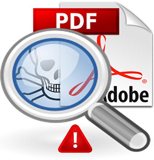 تحذير من روابط PDF مزيفة وخبيثة