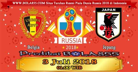 Prediksi Bola855 Belgium vs Japan 3 Juli 2018
