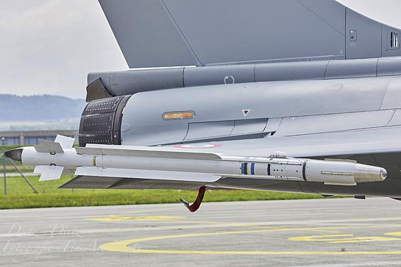 MICA Luft-Luft Lenkwaffe von MBDA für Kurz- und Mittelstrecken