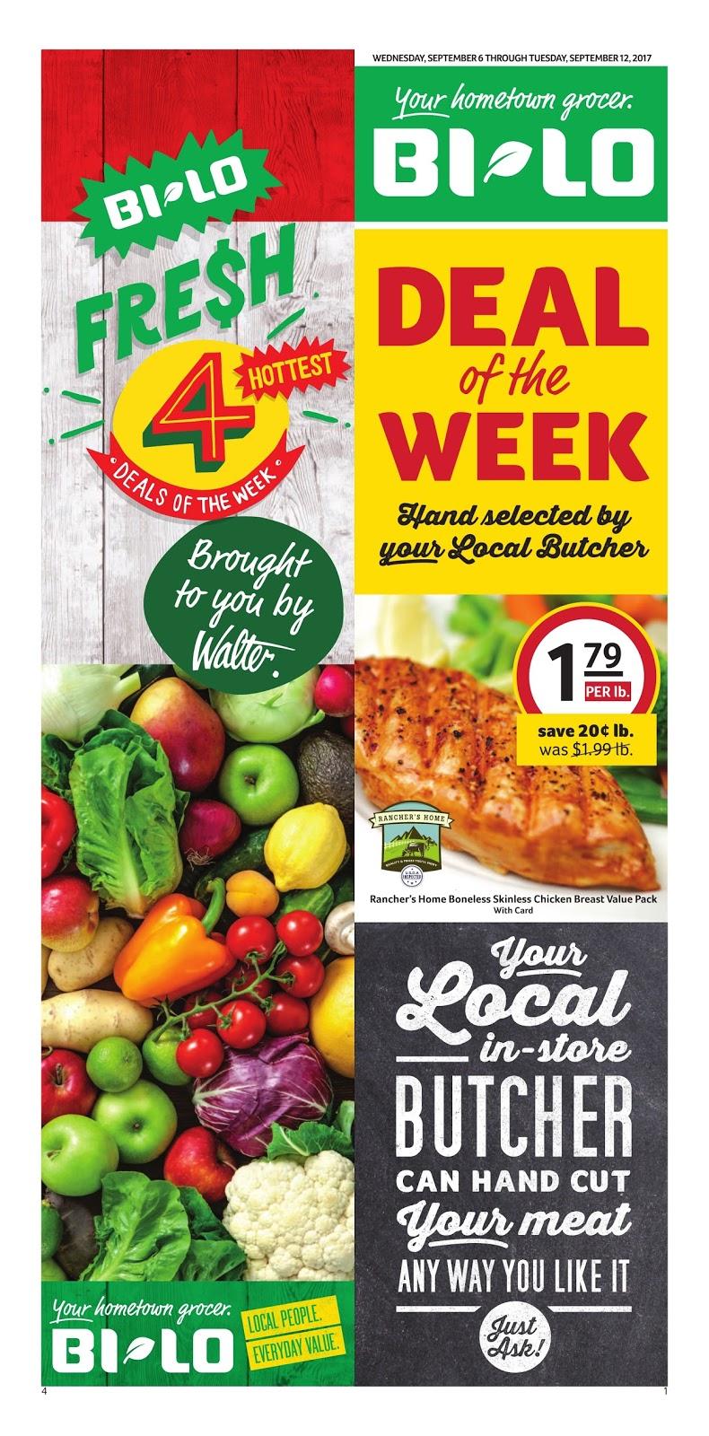 Bilo Weekly Ad Spartanburg SC Daily Saving Deals
