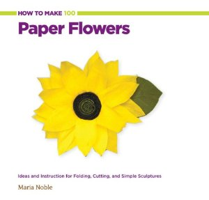paper flower book