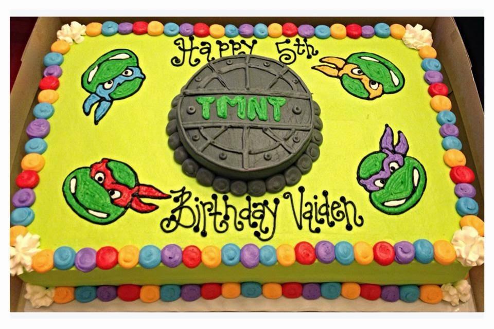 Ninja Turtle Sheet Cakes   www.imgkid.com - The Image Kid ...