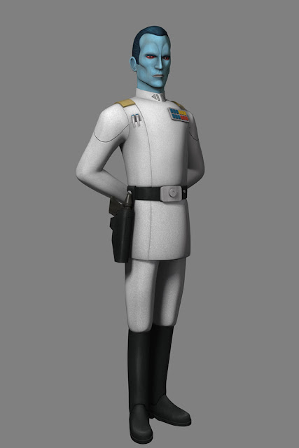 Grand Admiral Thraw Season Three of Star Wars Rebels