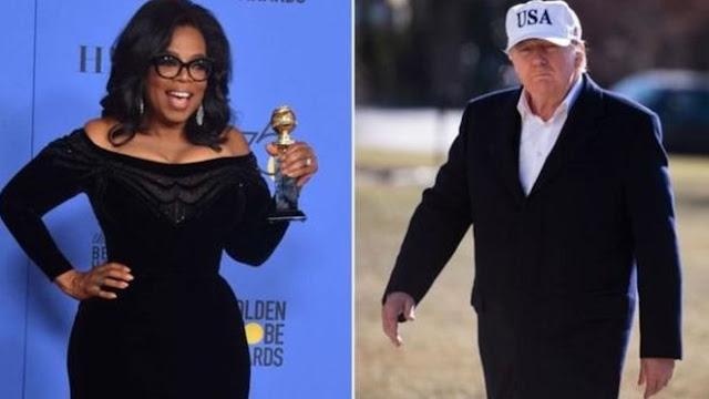 Trump Kushindana na Oprah Winfrey Kugombania Nafasi ya Urais 2020