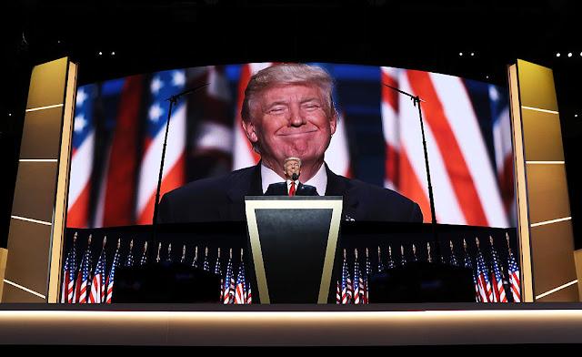 Trump alza del oro