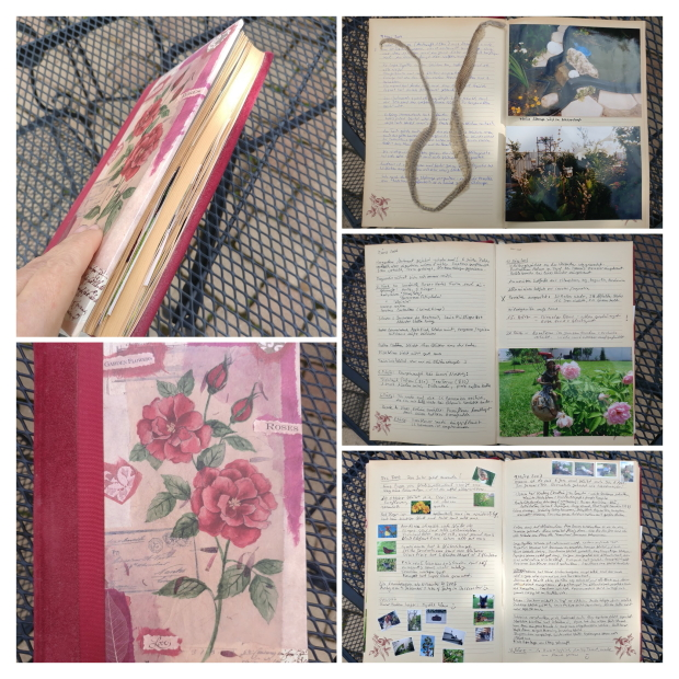 pen and paper garden journal