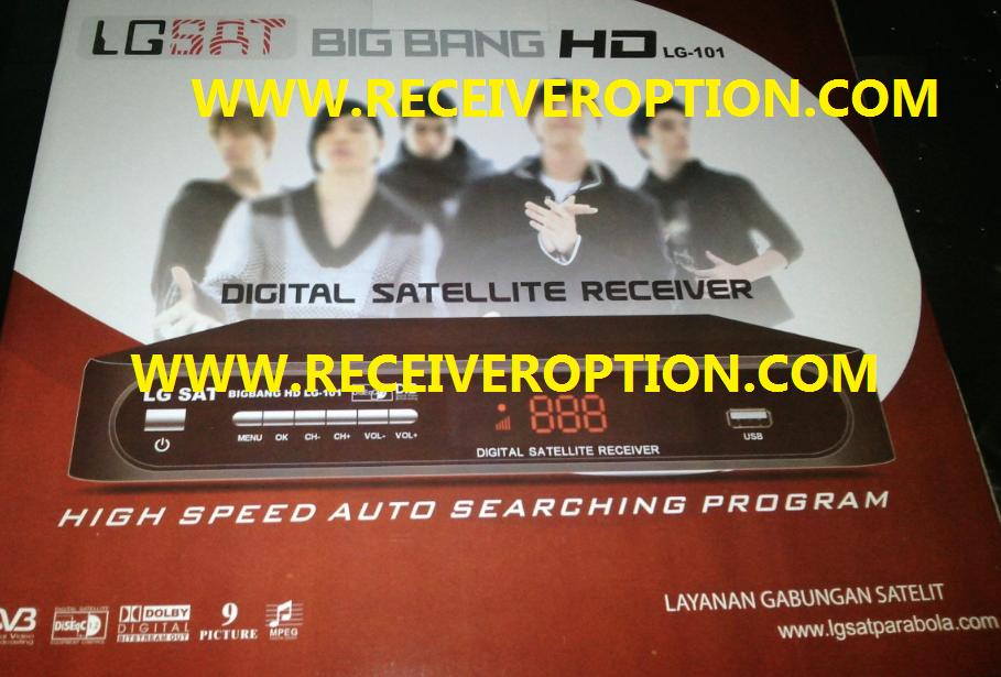 BIG BANG HD LG-101 RECEIVER POWERVU KEY NEW SOFTWARE - HOW TO ENTER