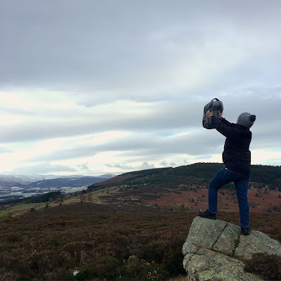 Lion King moment up Scolty Hill, Banchory
