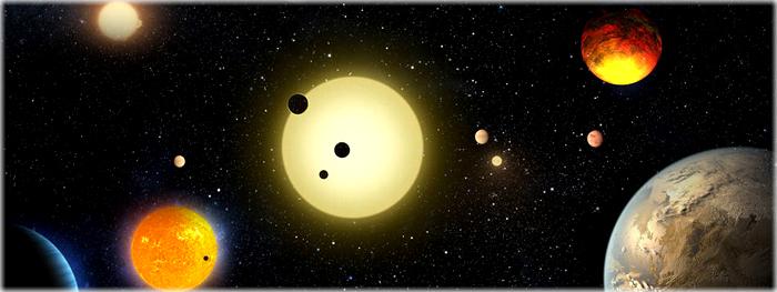 Novos exoplanetas descobertos