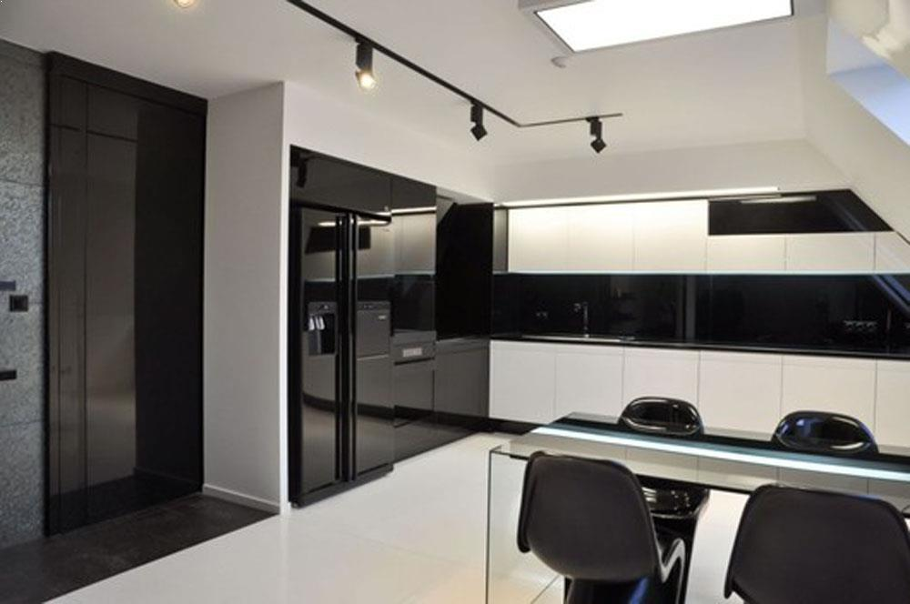 Modern Kitchen Design Black And White Best Kitchen Ideas