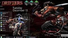 Theme Windows 7 Anime - Drifters