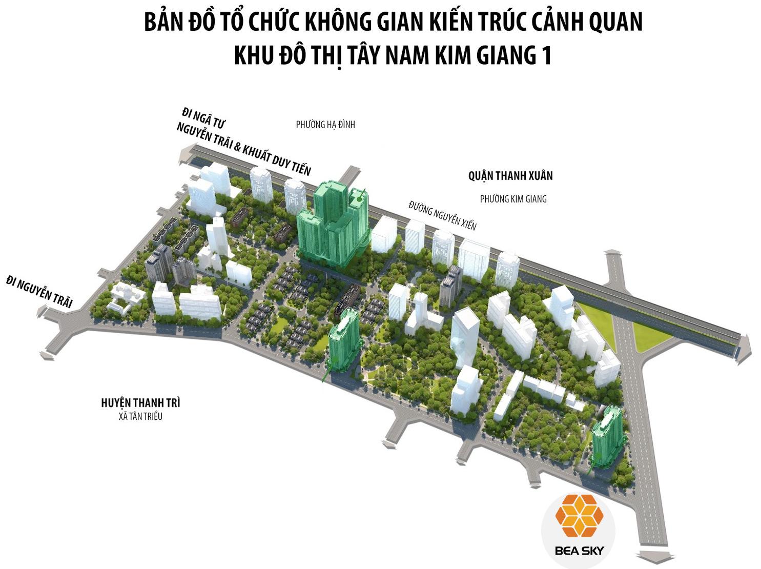 Chung cư Bea Sky Nguyễn Xiển