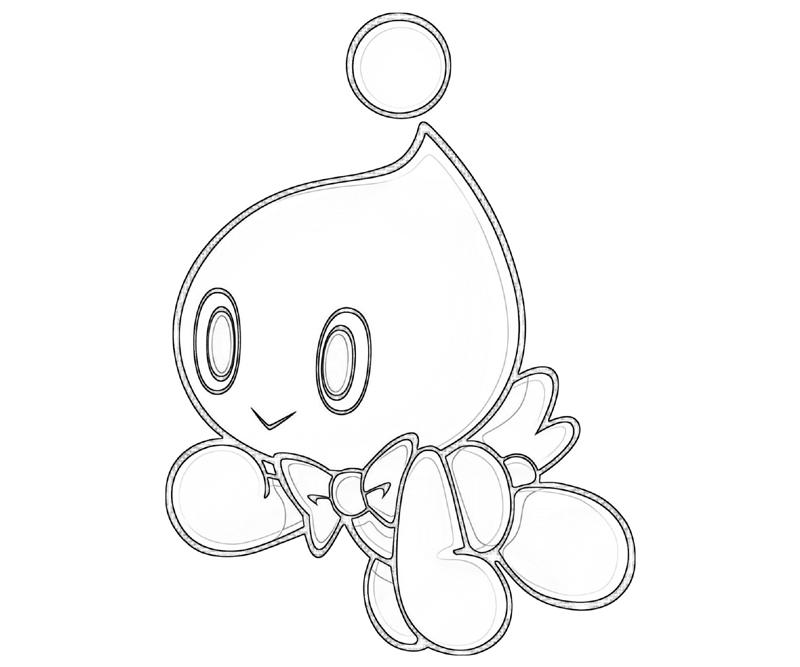 Sonic Generations Cheese The Chao Art | Surfing
