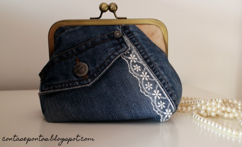 Jeans bag - recycling