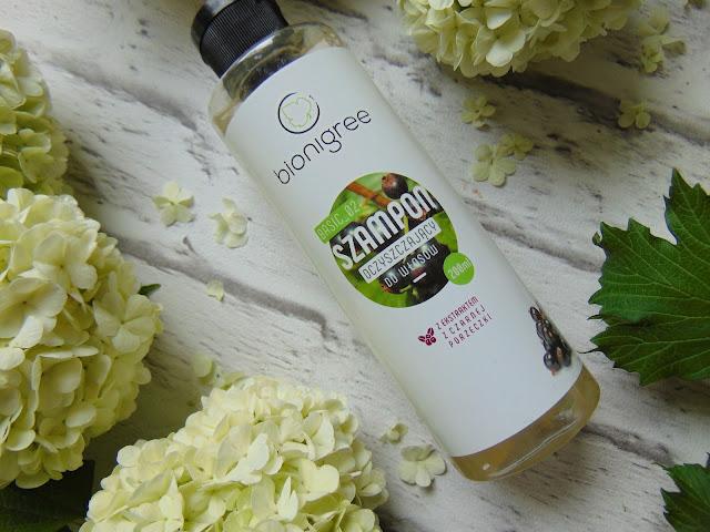 BIONIGREE - Szampon oczyszczający do włosów z ekstraktem z czarnej porzeczki