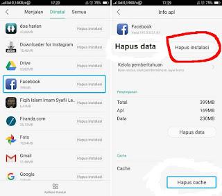 cara mengatasi aplikasi facebook lite atau biasa yang tidak bisa dibuka