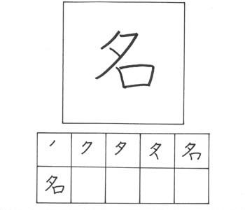 kanji nama