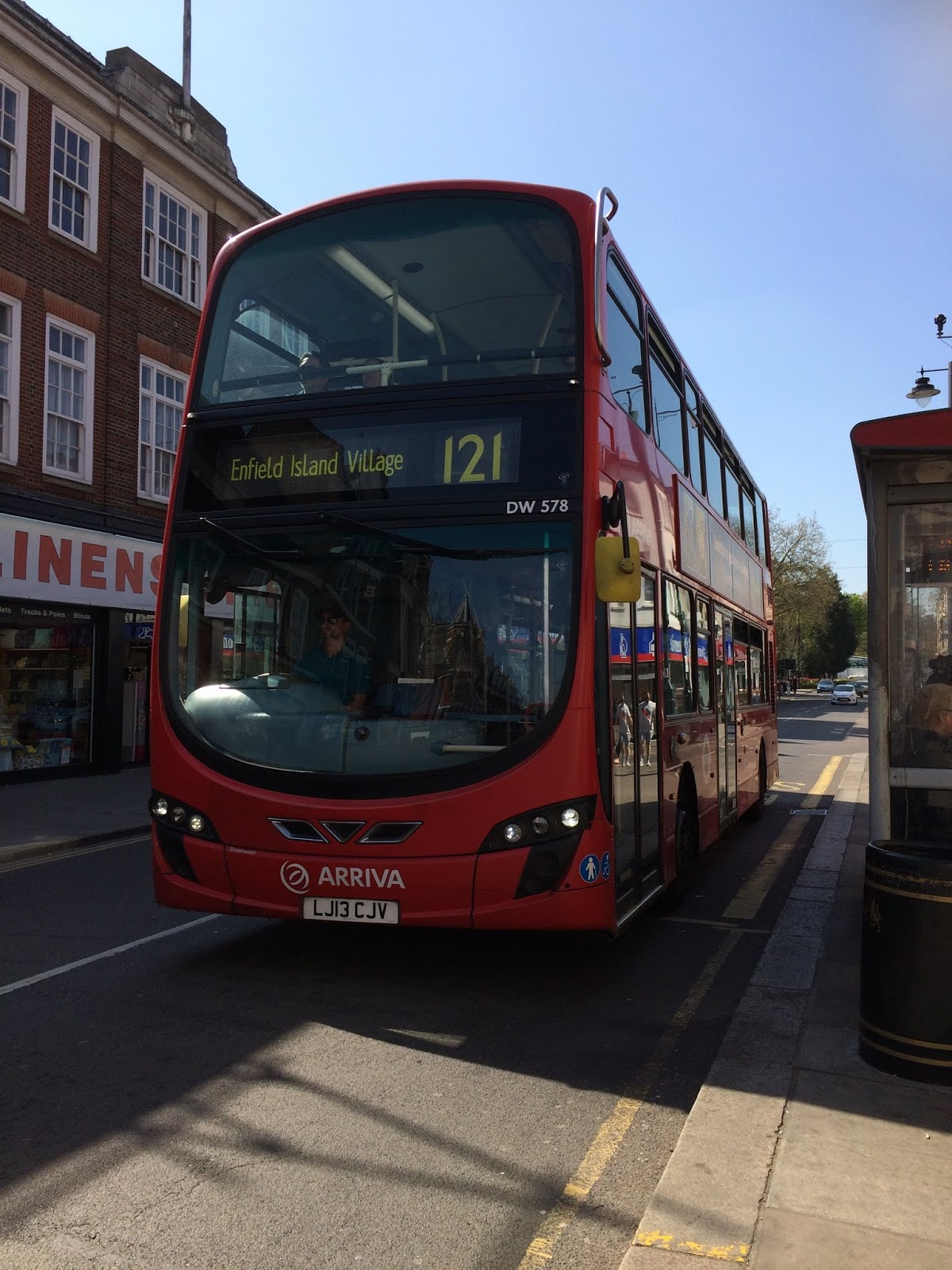 London Buses On The Go: July 2018