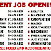 URGENT JOB OPENINGS - JULY 2016