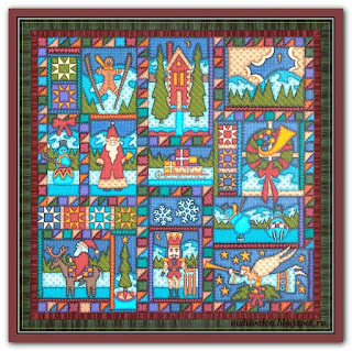 """Christmas Quilt"" Tilton Crafts"