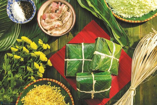 Ngoài bánh chưng, bánh dày, bánh tét là những loại bánh quá phổ biến và đặc trưng có vỏ làm từ gạo và nhân đậu, Việt Nam có một danh sách dài những món bánh có cách làm tương tự này, mỗi vùng miền đều có những món bánh đặc trưng.