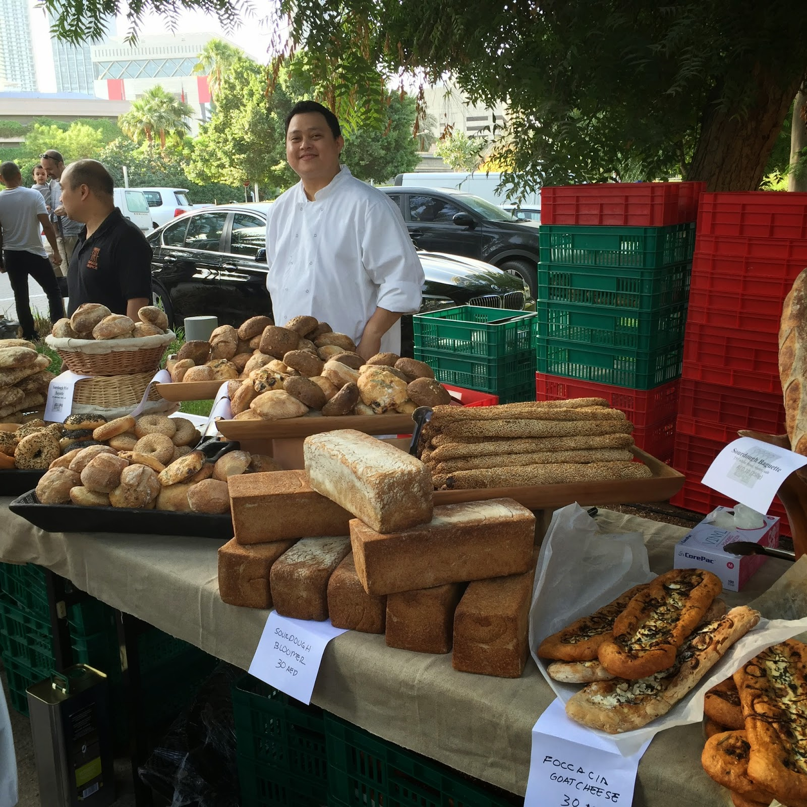 The Farmer's Market on the Terrace in Dubai -bakery