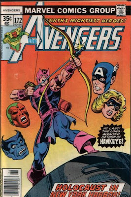 Avengers #172 Hawkeye returns