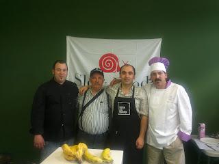 Javier Pascual, Radio Benabarre, Porté Estop y Pedro Díaz.