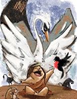 Elal, protegido por el cisne Kookn