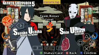 [Nouveau] Naruto Shippuden ultime Ninja Storm 5 Mod CSO PPSSPP (hors ligne) sur Android