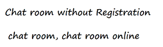 chat room without registration