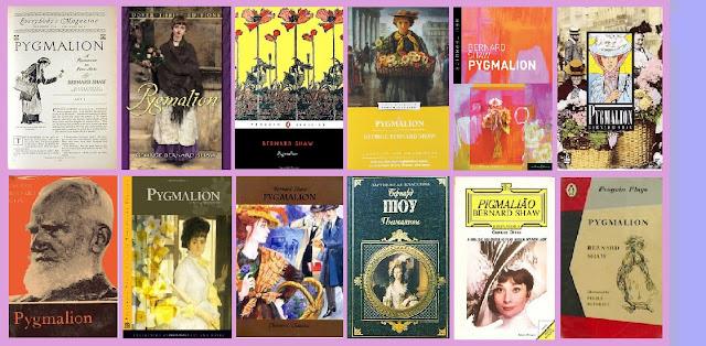 portadas de la obra de teatro Pigmalión, de George Bernard Shaw