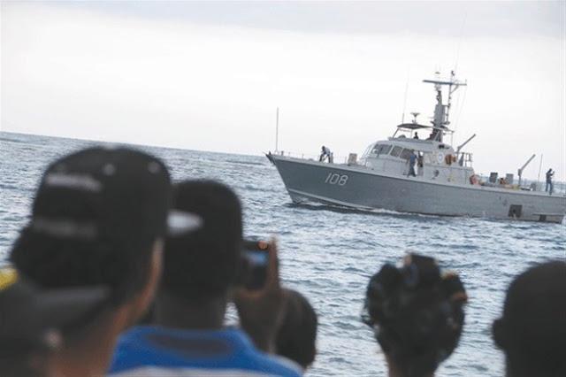 ! EL DIABLAZO CARAJO ! Haitianos roban yate patrullero de Armada Dominicana en Manzanillo