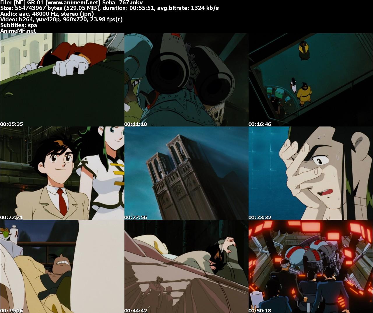 Giant Robo The Animation: Chikyuu Ga Seishi Suru Hi 7/7
