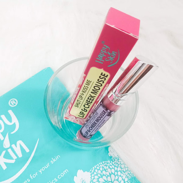 Happy Skin Shut Up and Kiss Me Lip and Cheek Mousse in Swept Me Off My Feet - Review