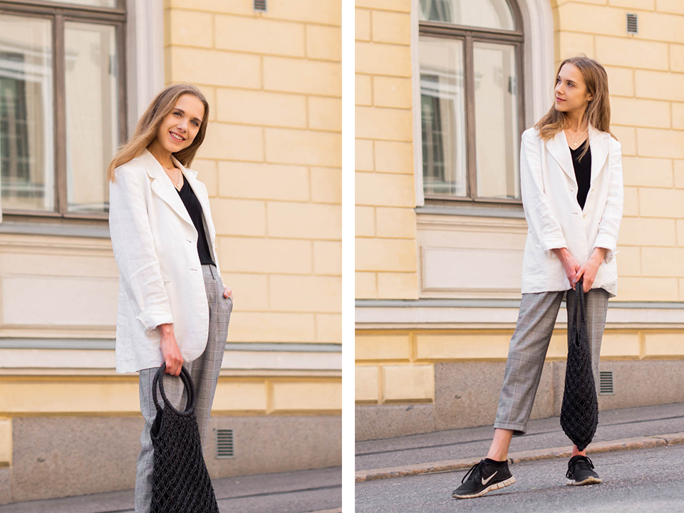 summer-bucket-list-2019-fashion-blogger-outfit-inspiration-linen-blazer-check-trousers