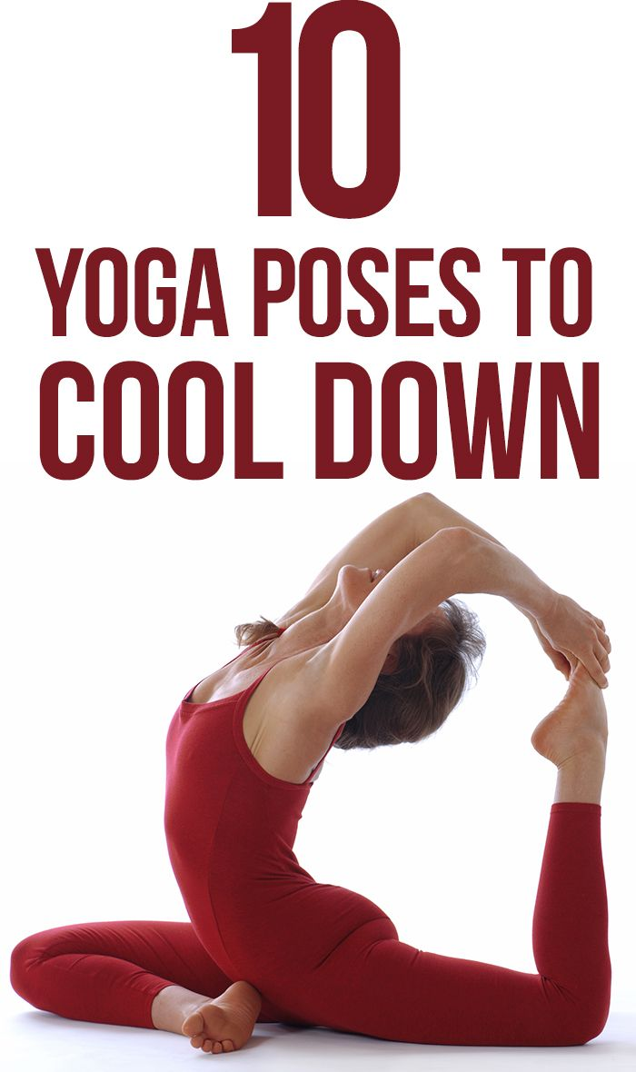 Top 32 Yoga Poses to Cool Down - Yogasly