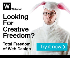 Total Freedom of Web Design!