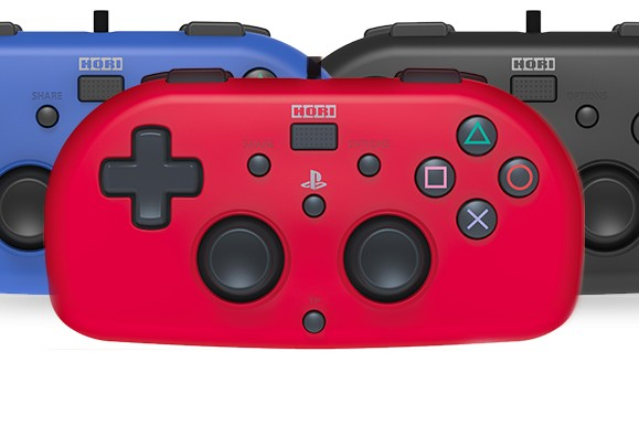 الإعلان عن يد تحكم صغيرة من شركة HORI لجهاز PS4 و هذا موعد إصدارها