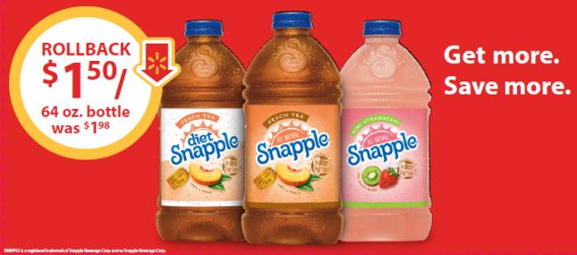 #SnappleRollback ad
