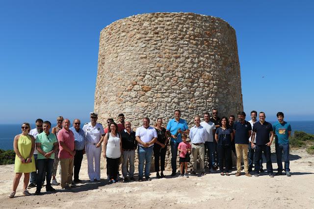 Município de Lagoa recuperou Torre da Lapa e inaugurou Caminho dos Promontórios
