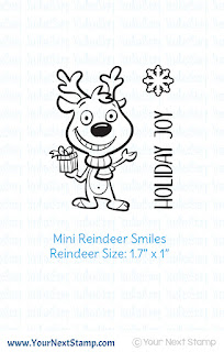 Mini Reindeer Smiles