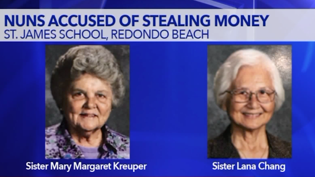 Sisters Mary Margaret Kreuper, Lana Chang