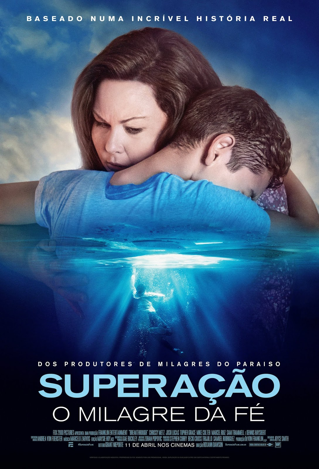 Capa do Filme Superação: O Milagre da Fé
