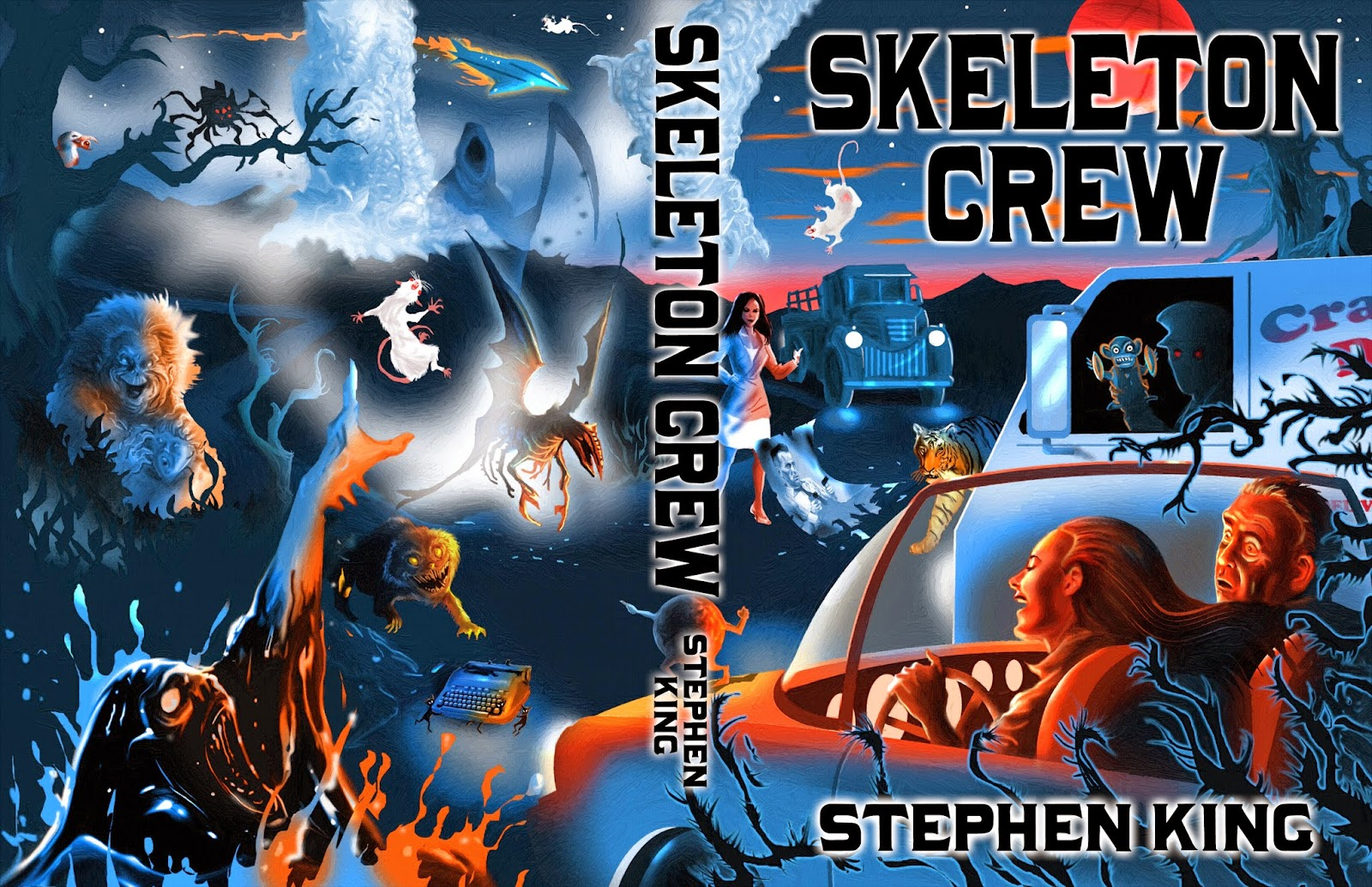 VONSHOLLYWOOD: SKELETON CREW by Stephen King